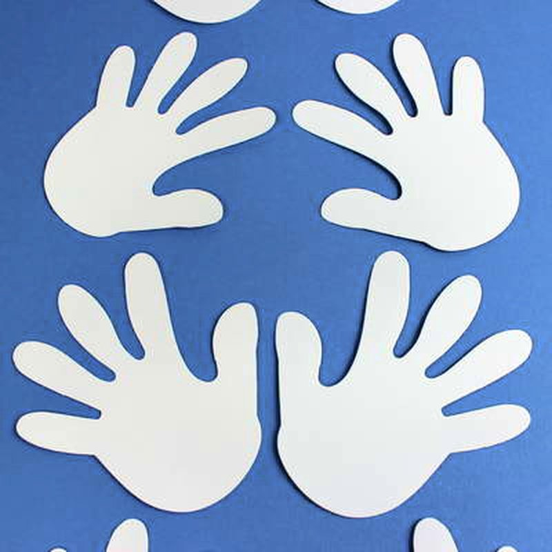 Großartig Druckbare Handschablone Fotos - Beispiel Wiederaufnahme ...
