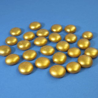 Nuggets Glas Gold