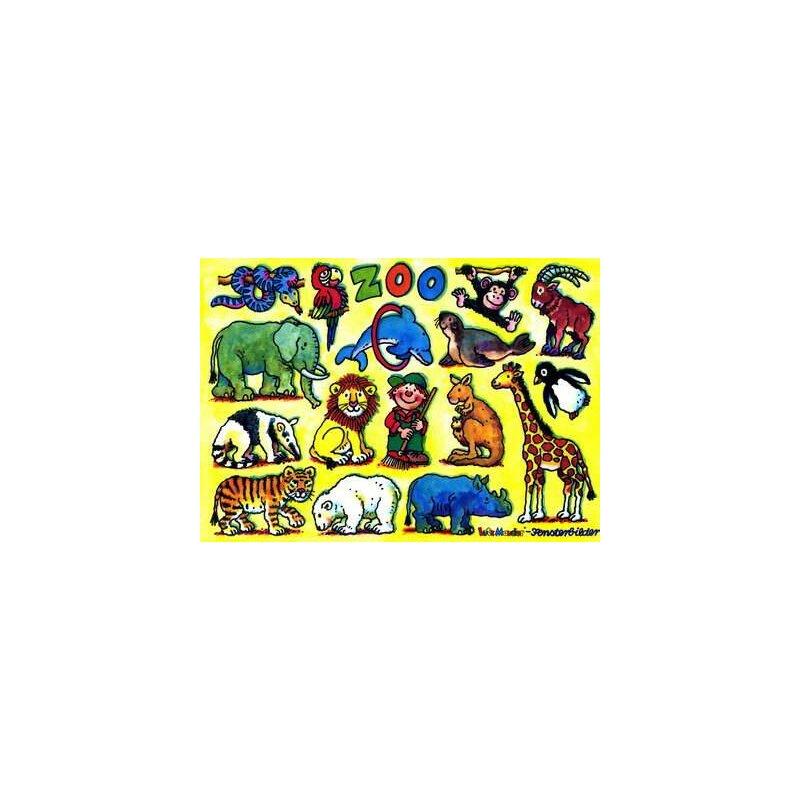 Fensterbild Zootiere